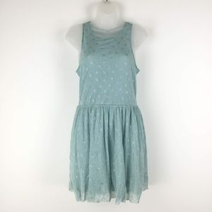 Free People Size XS Polka Dot Lace Dress